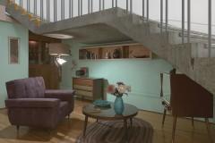 1950s TV Room